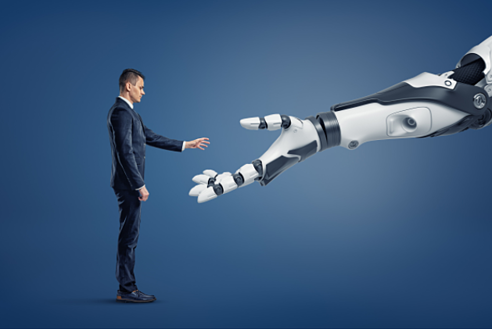 Human with Robot image