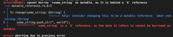 Mutable References