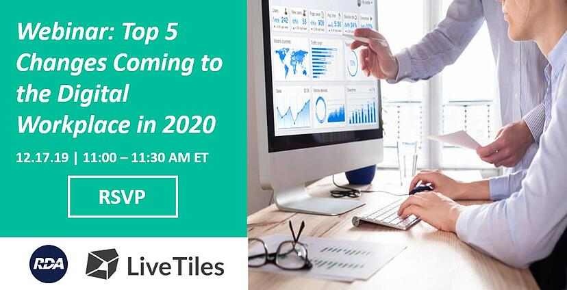 Top 3 Changes Coming to the O365 Digital Workplace in 2020