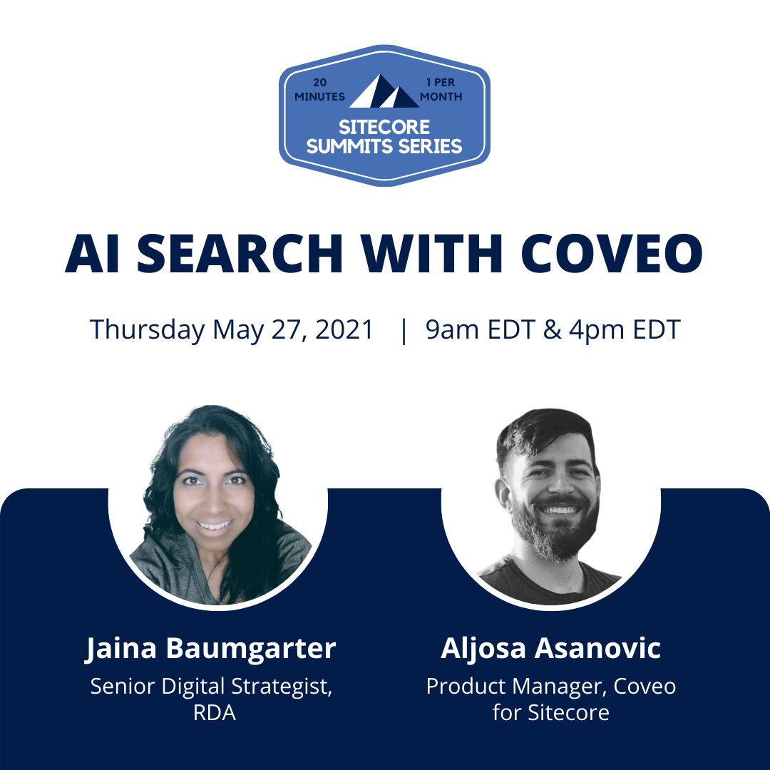 AI Search with Coveo - May 27 2021 Sitecore Summit Virtual Event (1)