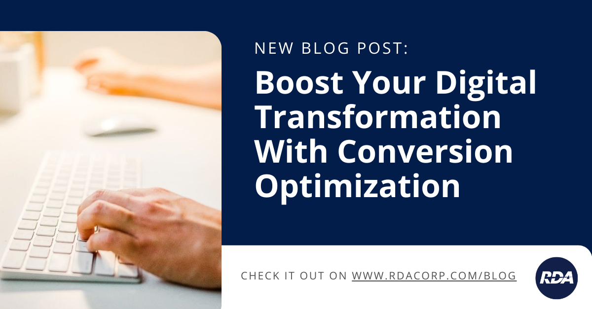 Boost Your Digital Transformation With Conversion Optimization