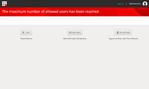 Sitecore 9.1 Cannot Boost/Kick Users