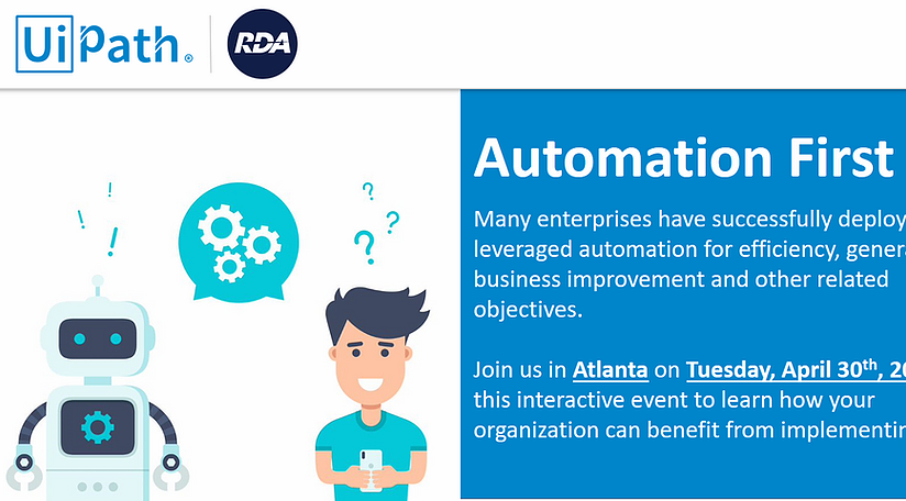 Automation First - Get Started with RPA